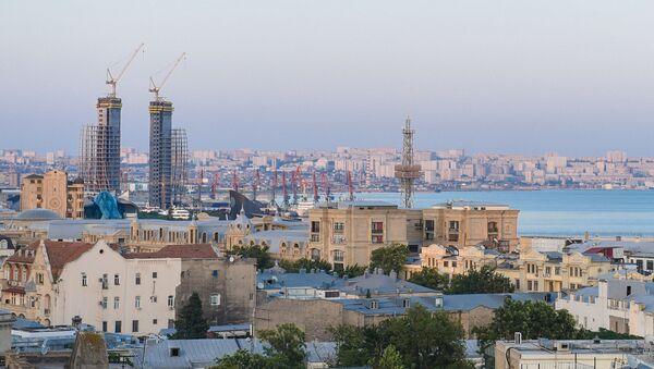 Вид на Баку - Sputnik Азербайджан