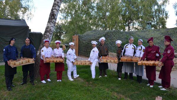 Финальный этап международного конкурса Полевая кухня в рамках Армейских международных игр - Sputnik Азербайджан