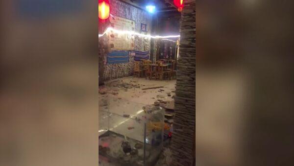Кадры последствий землетрясения в Китае - Sputnik Азербайджан