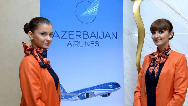Стюардессы AZAL - Sputnik Азербайджан