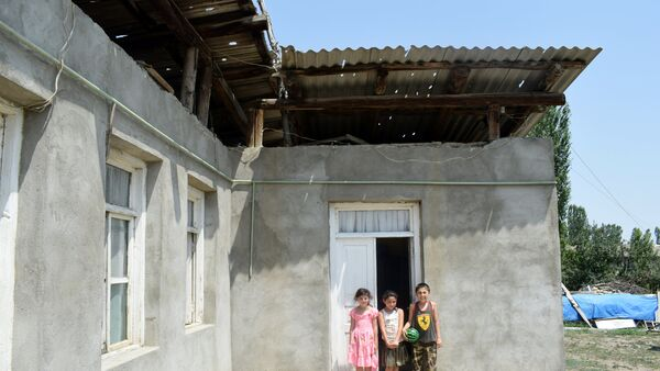 Жители села Юхары Гёйчали Агстафинского района - Sputnik Азербайджан