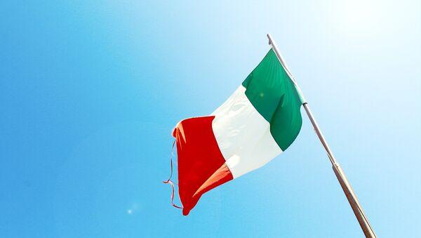 Флаг Италии, фото из архива - Sputnik Азербайджан