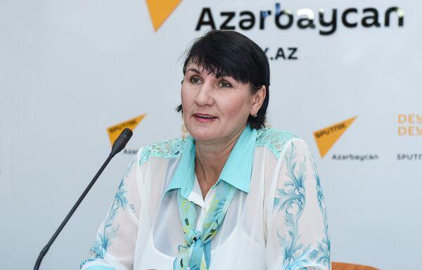 Активисты движения по защите бездомных животных в мультимедийном пресс-центре Sputnik Азербайджан - Sputnik Азербайджан