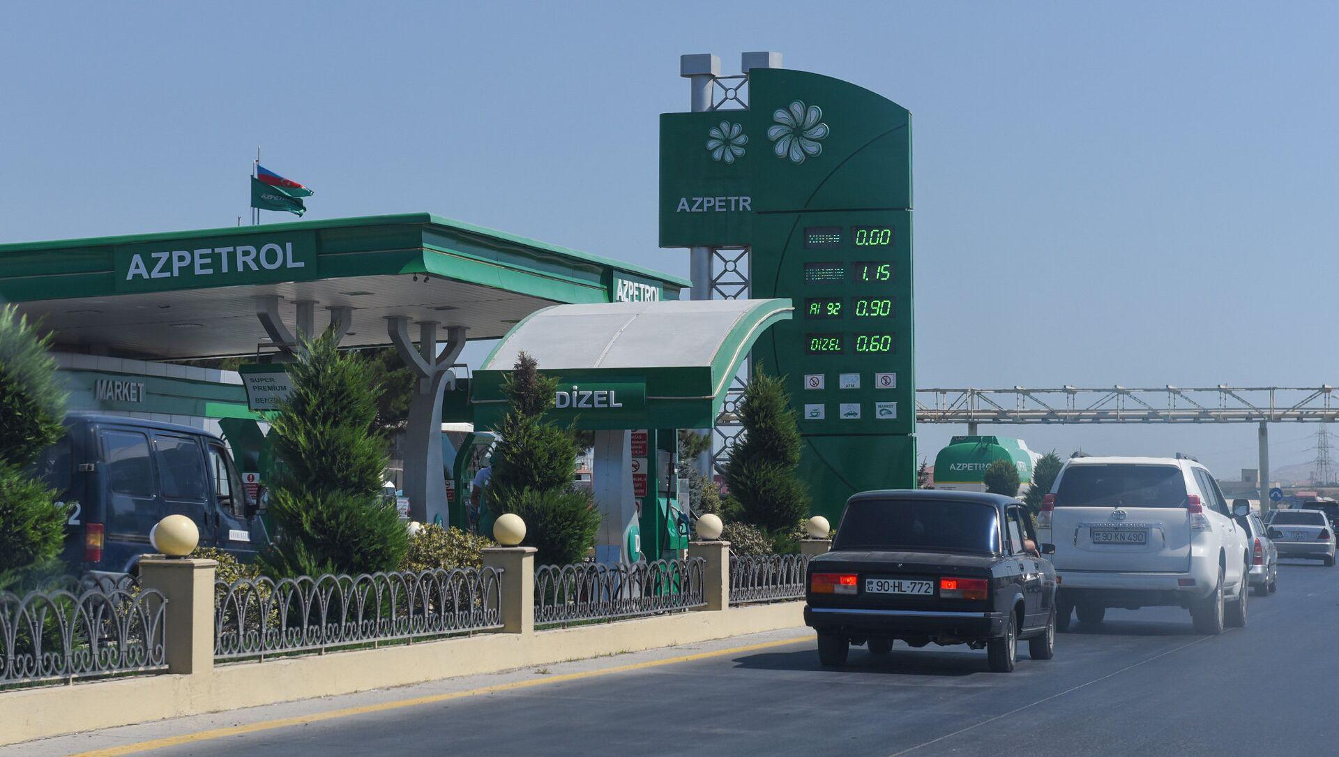 Автозаправочная станция на трассе Баку-Сумгайыт - Sputnik Азербайджан, 1920, 03.08.2021