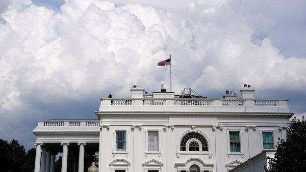 Белый дом в Вашингтоне, фото из архива - Sputnik Азербайджан