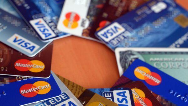 Kredit kartları, arxiv şəkli - Sputnik Азербайджан