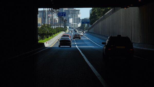 Тоннель на улице Москва в Ясамальском районе Баку - Sputnik Азербайджан