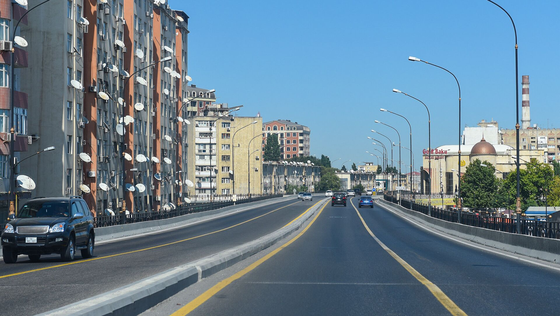 Мост на Тбилисском проспекте в Баку - Sputnik Азербайджан, 1920, 21.09.2021