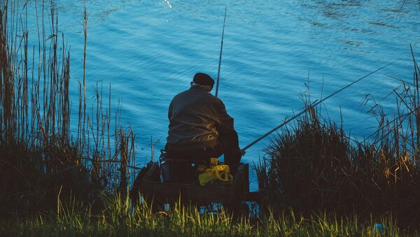 Рыбак, фото из архива - Sputnik Азербайджан