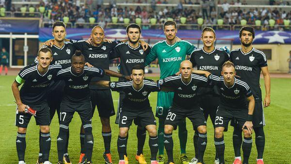 Первый матч раунда плей-офф Лиги чемпионов между азербайджанским Карабахом и датским Копенгагеном - Sputnik Азербайджан