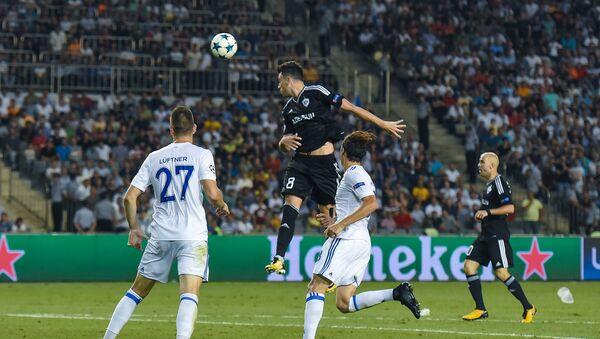 Первый матч раунда плей-офф Лиги чемпионов между азербайджанским Карабахом и датским Копенгагеном - Sputnik Azərbaycan