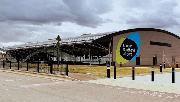Международный аэропорт Саутенд в Лондоне, фото из архива - Sputnik Азербайджан