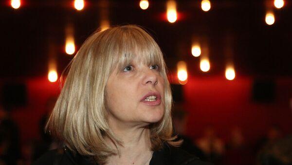 Российская актриса Вера Глаголева, фото из архива - Sputnik Азербайджан