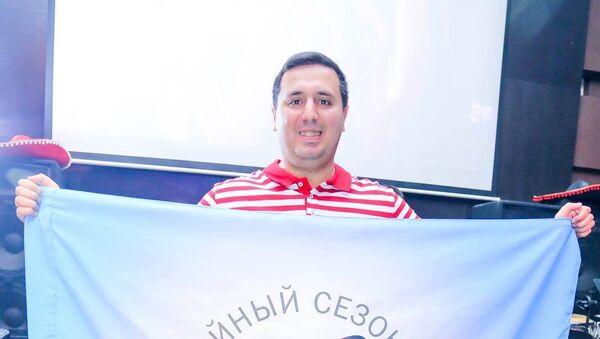 Директор Азербайджанской лиги КВН и Сборной Баку Джавид Шахбазбеков - Sputnik Азербайджан