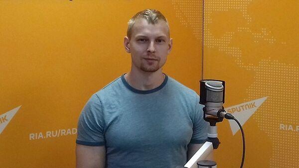 Фитнес-тренер Анатолий Горячев - Sputnik Азербайджан