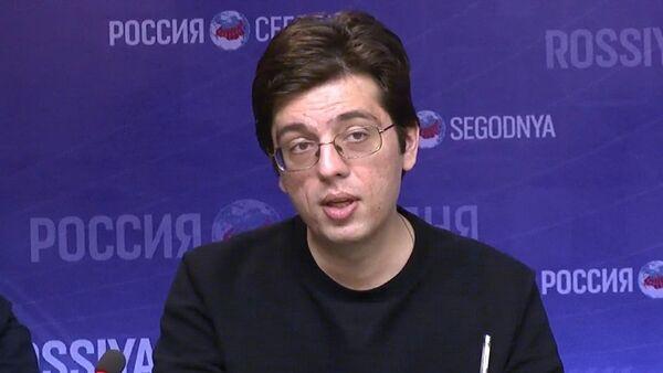 Эксперт Российского совета по международным делам Никита Мендкович - Sputnik Азербайджан