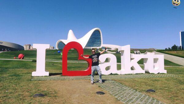 Владимир Глазунов в Баку, фото из архива - Sputnik Азербайджан