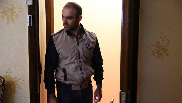 Мурад Абдуллаев на съемках фильма Son addım (Последний шаг) - Sputnik Азербайджан