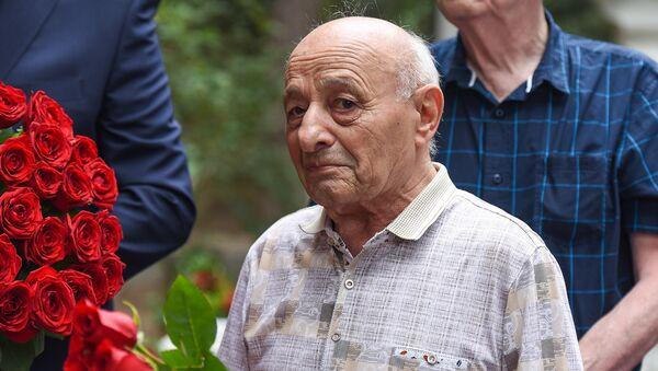 Ректор Азербайджанской государственной академии художеств, академик Омар Эльдаров  - Sputnik Азербайджан