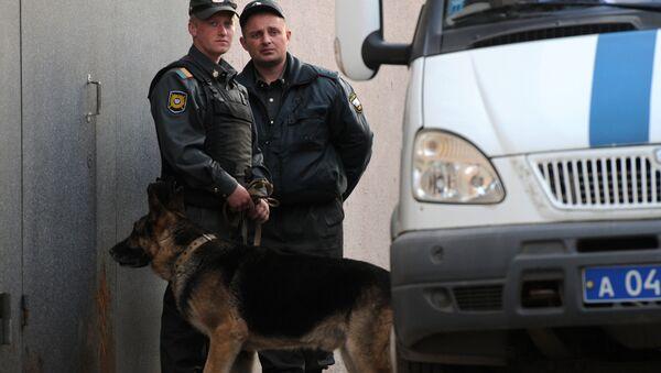 Сотрудники правоохранительных органов РФ, фото из архива - Sputnik Azərbaycan