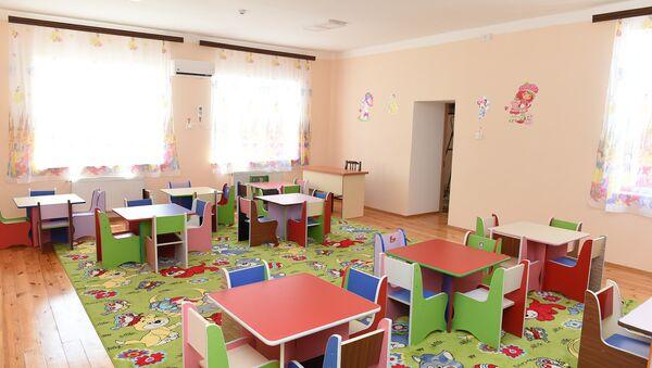 Ясли-детский сад номер 4 в Гейгеле - Sputnik Азербайджан