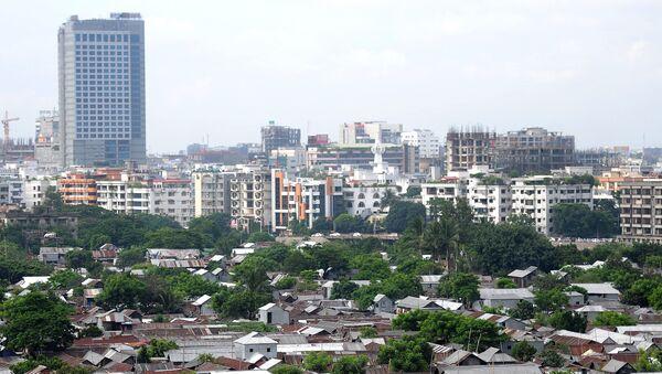 Вид на город Дакку, фото из архива - Sputnik Азербайджан