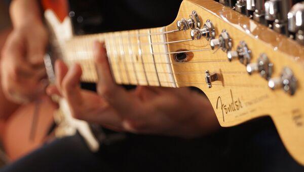 Гитара, фото из архива - Sputnik Азербайджан