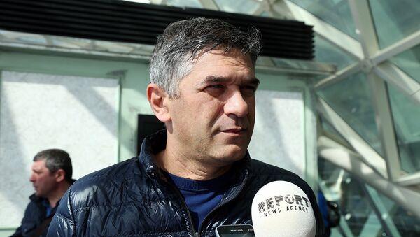 Neftçi futbol komandasının baş məşqçisi Elxan Abdullayev - Sputnik Azərbaycan