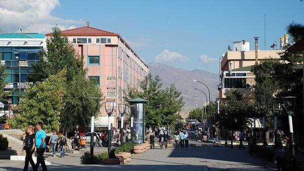 Центральная часть города Эрзинджан, фото из архива - Sputnik Азербайджан