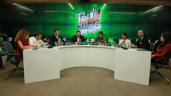 Пресс-конференция Ты супер! Танцы - Sputnik Азербайджан