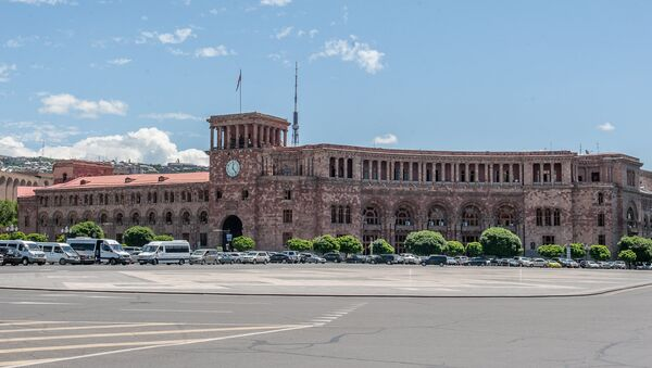 Площадь Республики. Ереван - Sputnik Azərbaycan