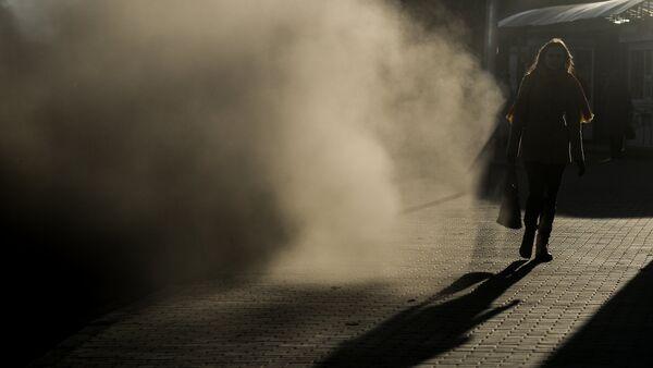 Поднятая ветром пыль, фото из архива - Sputnik Azərbaycan