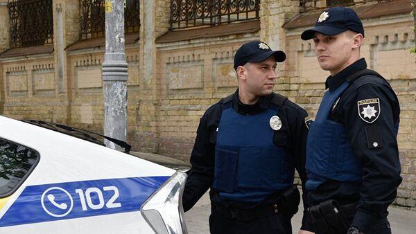 Полиция Украины, фото из архива - Sputnik Azərbaycan