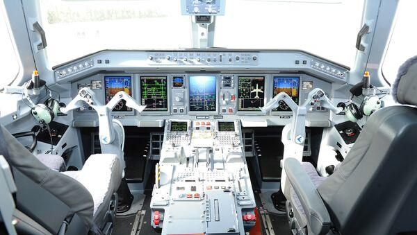 Самолет Embraer E190, фото из архива - Sputnik Азербайджан