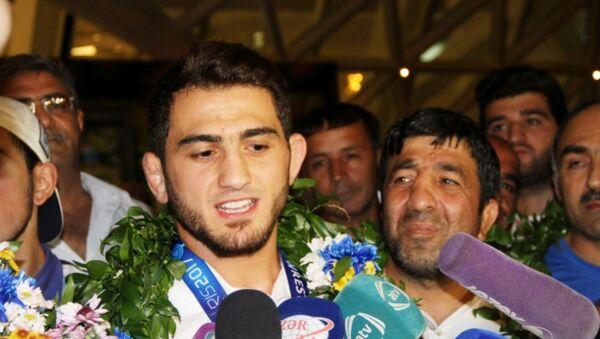 Борец Хаджи Алиев - Sputnik Азербайджан