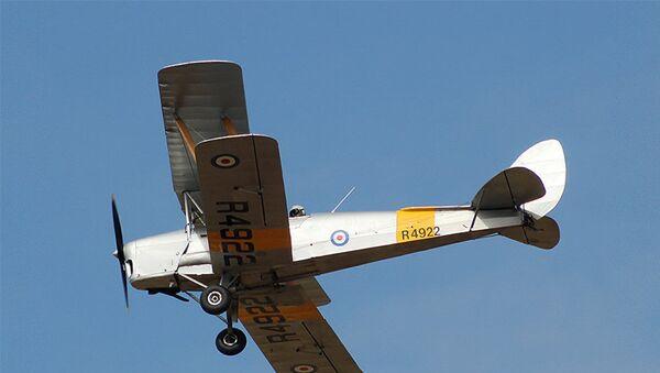 Легкомоторный самолет, фото из архива - Sputnik Азербайджан