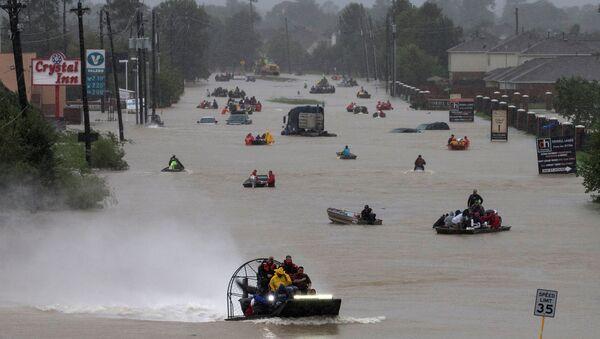 Последствия урагана Харви, Техас - Sputnik Азербайджан
