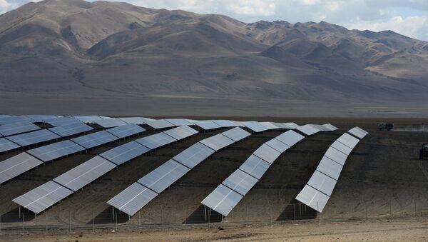 Солнечная электростанция - Sputnik Азербайджан