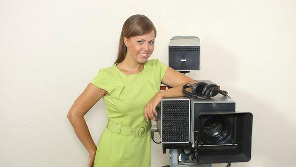 Российский журналист Анна Курбатова, фото из архива - Sputnik Азербайджан