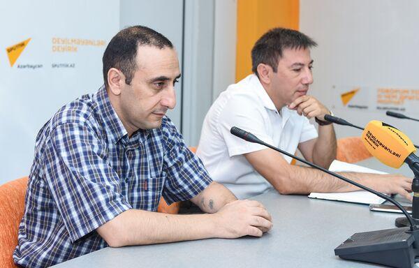 Видеомост Баку-Минск-Кишинев-Бишкек на тему Международный день блога глазами блогеров из СНГ - Sputnik Азербайджан