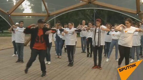 LIVE: Мастер-класс танцевальной школы TODES для участников шоу Ты супер! Танцы - Sputnik Азербайджан