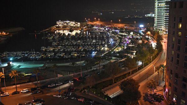 Приморская набережная Корниш в Бейруте - Sputnik Азербайджан