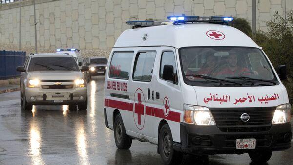 Карета скорой помощи в Бейруте, фото из архива - Sputnik Азербайджан