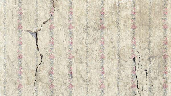 Поврежденная землетрясением стена, архивное фото - Sputnik Азербайджан