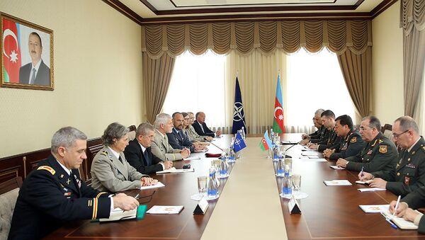 Азербайджан и НАТО обсудили вопросы сотрудничества - Sputnik Азербайджан