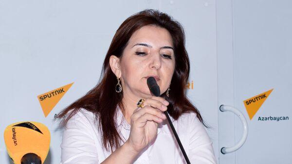 Журналист Рамелла Ибрагимхалилова - Sputnik Азербайджан