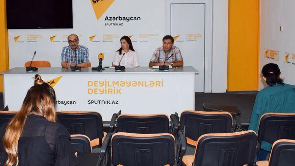 Мероприятие, посвященное проблеме суицидов в Азербайджане - Sputnik Азербайджан