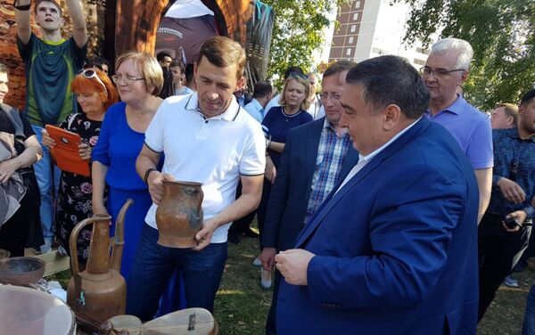 Представители азербайджанской диаспоры приняли участие в Дне народов Среднего Урала - Sputnik Азербайджан