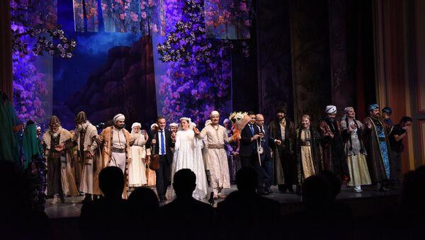 Опера Лейли и Меджнун, фото из архива - Sputnik Азербайджан