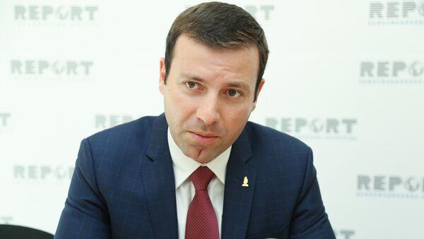 Генеральный секретарь АФФА Эльхан Мамедов, фото из архива - Sputnik Азербайджан
